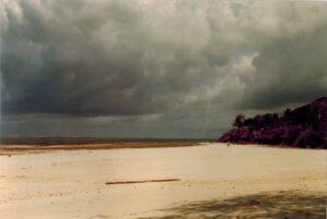 Het strand van Mombasa, Kenia