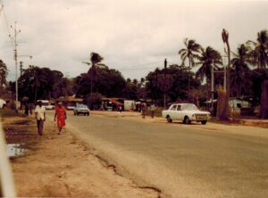Buitenwijk van Mombasa, Kenia