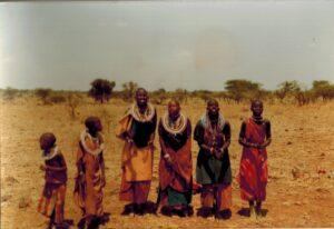 Massai vrouwen