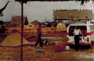 Ons kamp in Tsavo