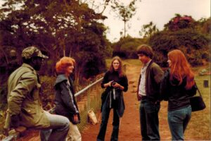 Michael, Agnes, Angela, Theo en Lucy