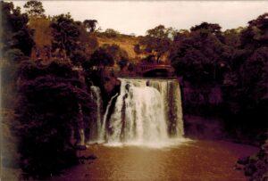 Waterval bij Lake Naivasha