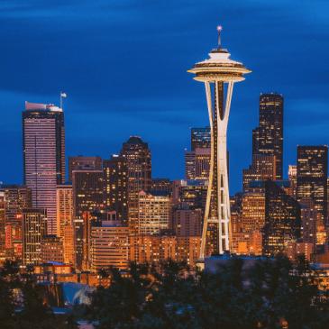 Seattle en Washington – Juli 2001