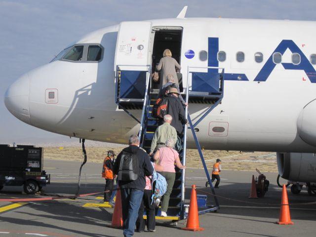 Vliegen naar Puno, Peru