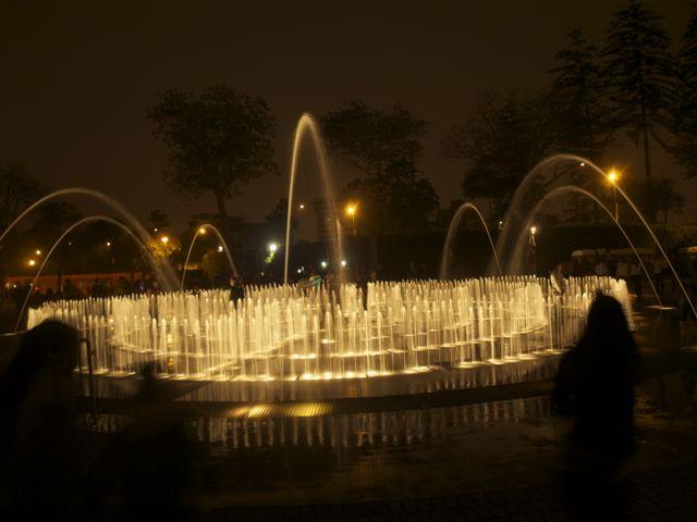 Fonteinen in Lima