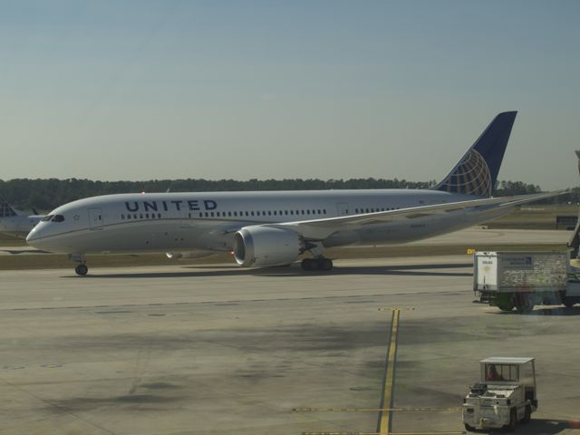 Dreamliner in Houston