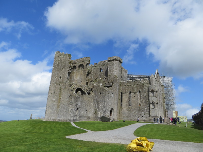 Rock of Cashel in Ierland