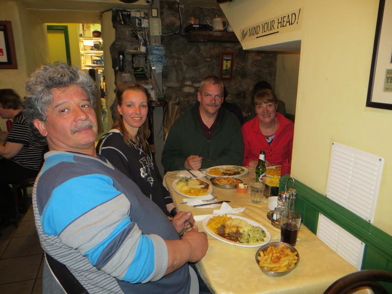 Janneke en Andy in Ierland