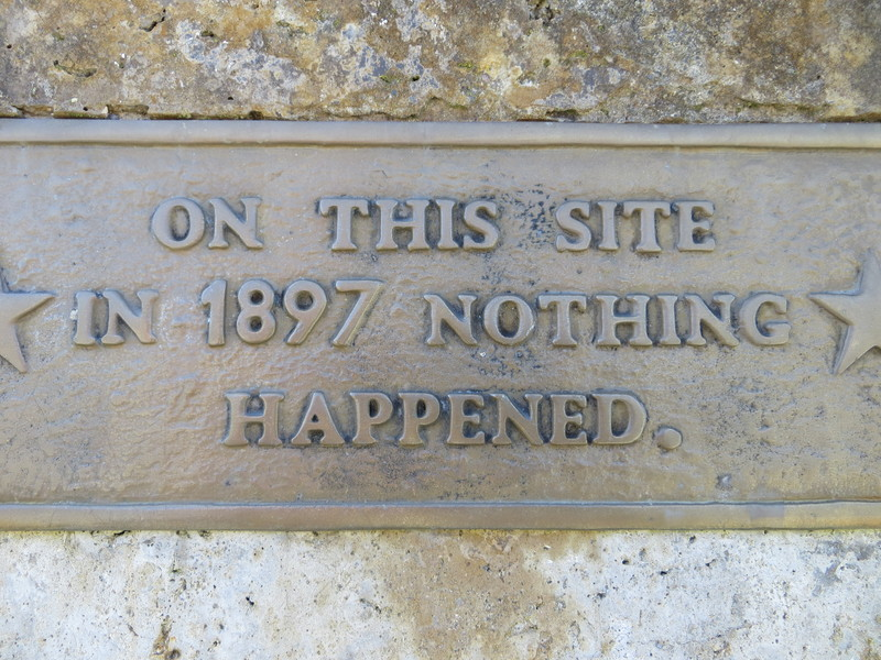 Nothing happened here