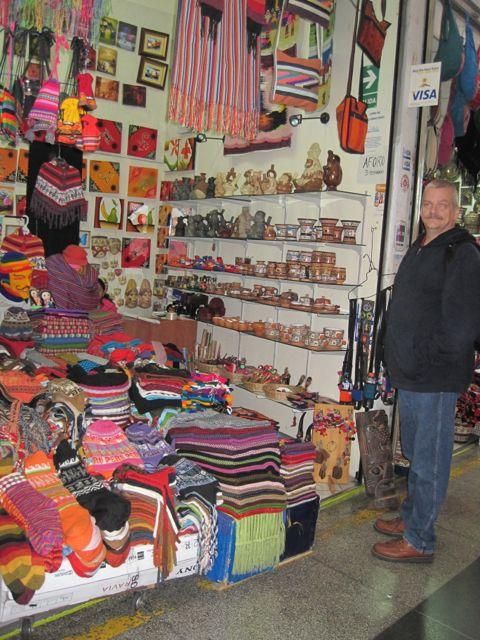 Winkeltje in Lima, Peru