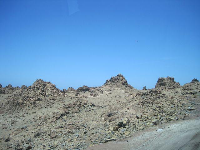 Grillige landschap van Peru