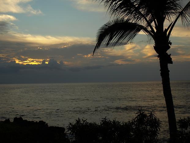 Uitzicht vanaf Wailea Resort