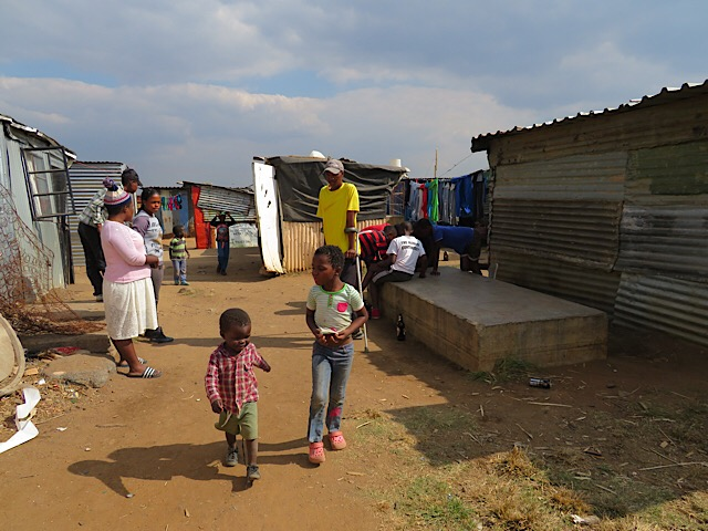 Slums in Soweto, South Africa