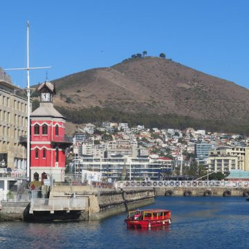 Cape Town, Table Mountain and Robben Island