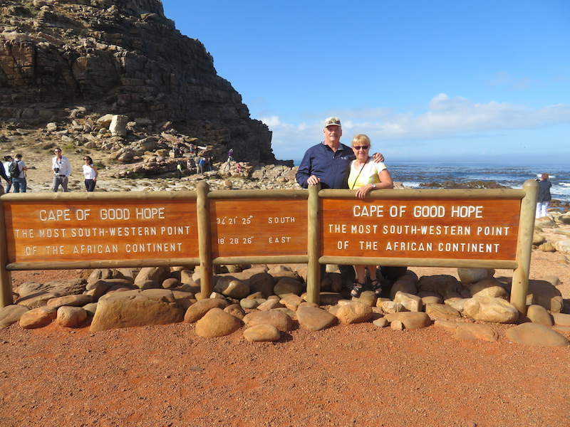 The Southern most point of Africa