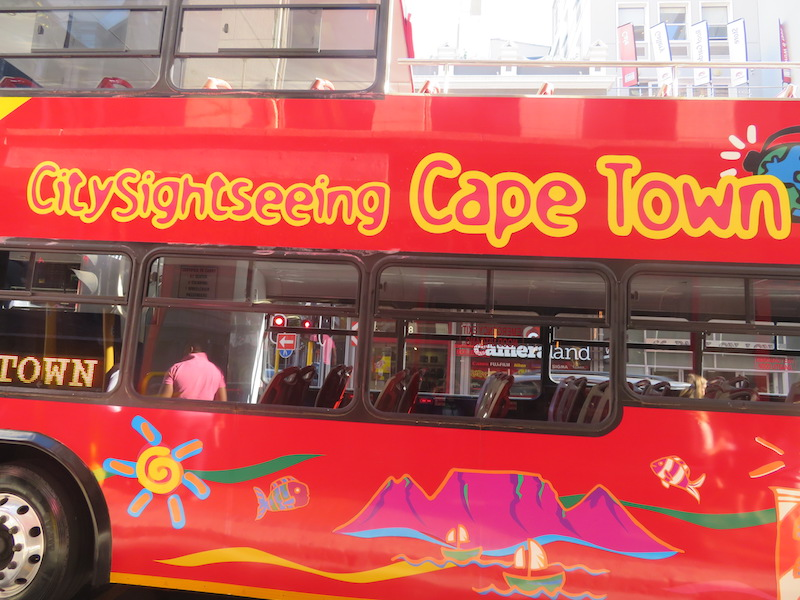 Sightseeing in Cape Town
