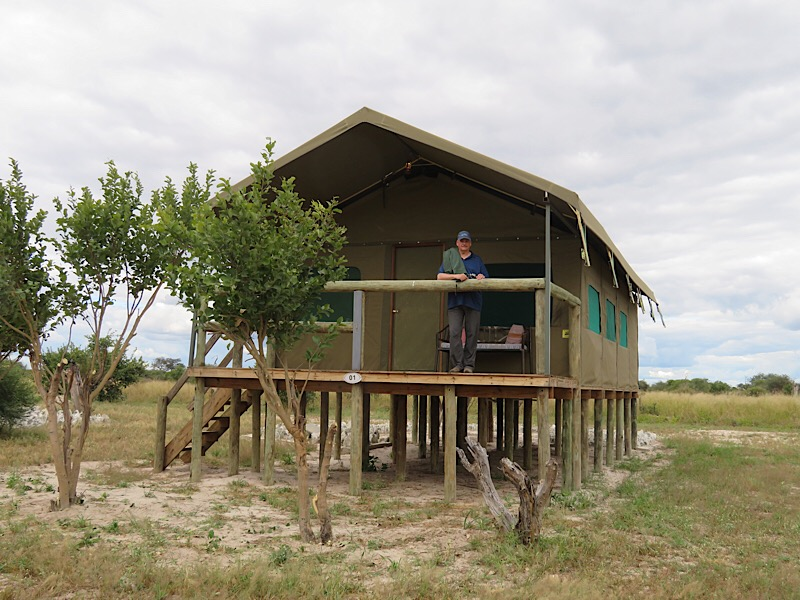 Africa: Tent Lodge in Botswana