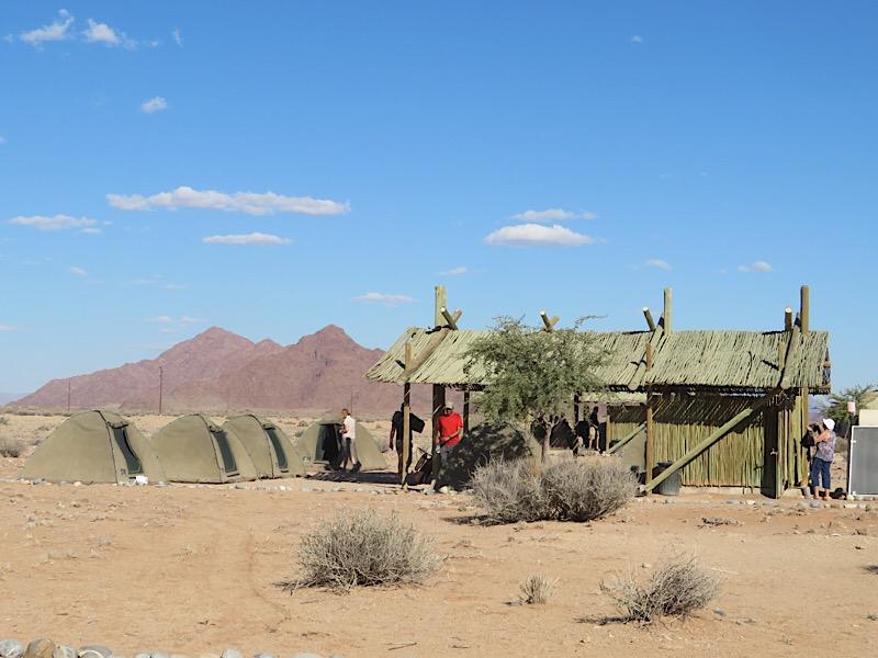 Africa: Sossusvlei Oasis campsite