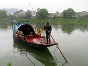 De Xin'an river veerman