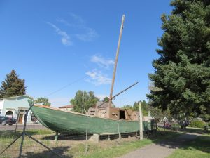 Antieke Missouri boot
