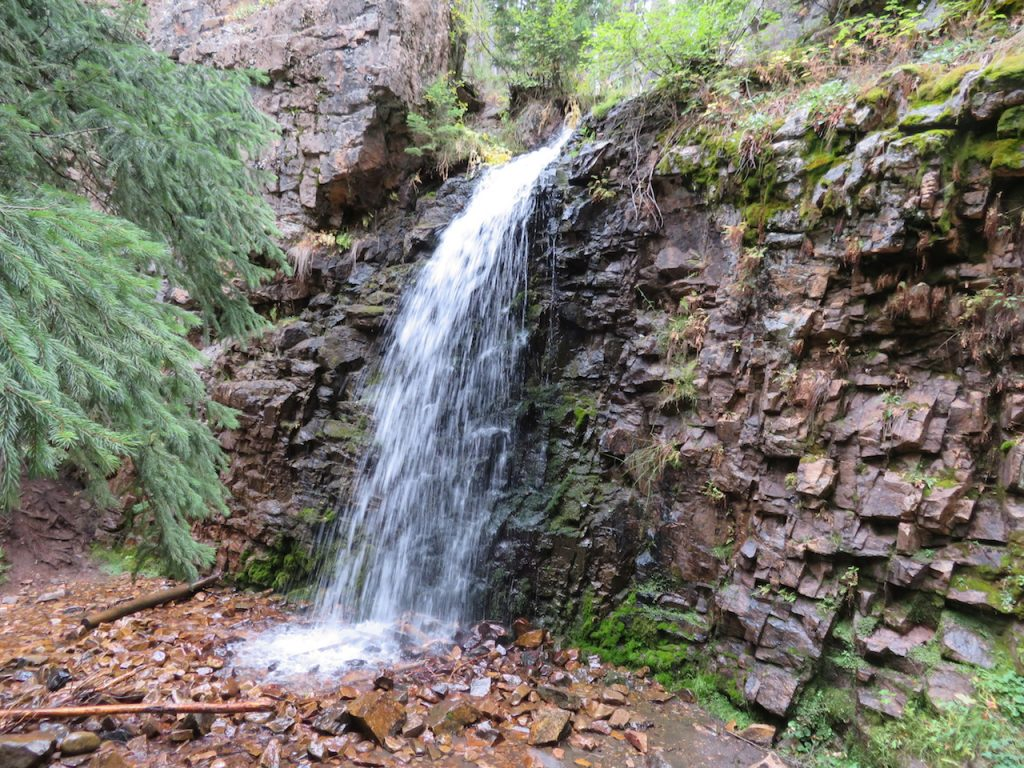 Waterval in Montana
