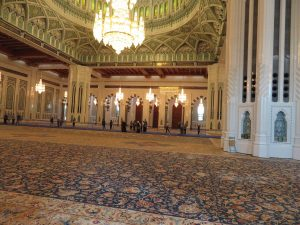 Qaboos Grand Mosque in Muscat, Oman