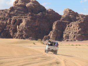 Wadi Rum in Jordanië