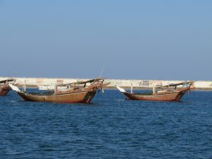 Dhows in Sur