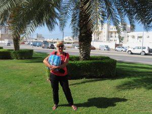Aankomst in Muscat