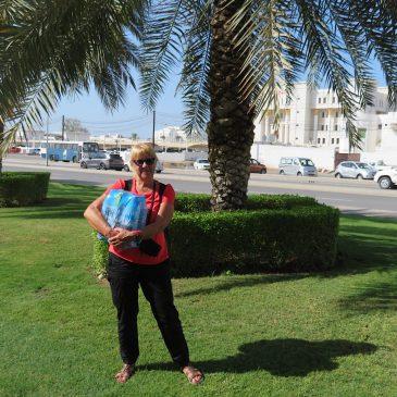 Terug naar Amman en door naar Muscat, Oman