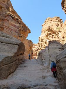 Petra weg naar de Monestary