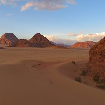 Wadi Rum en Rode Zee