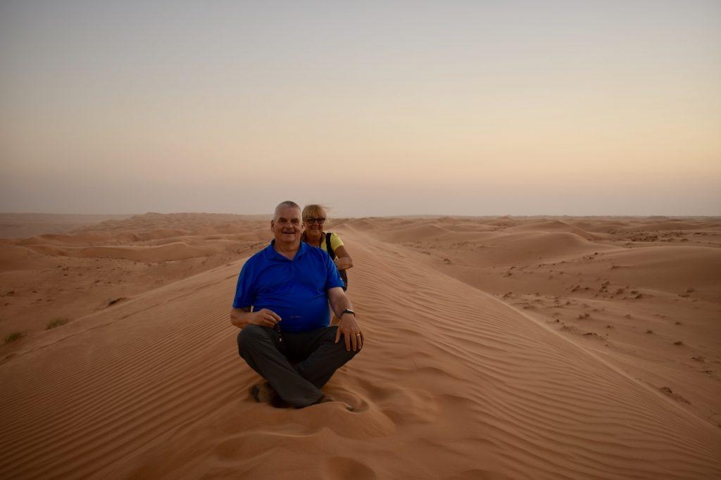 Groeten uit Oman