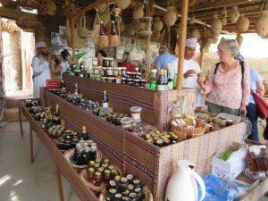 Honing winkel in Al-Hamra, Oman