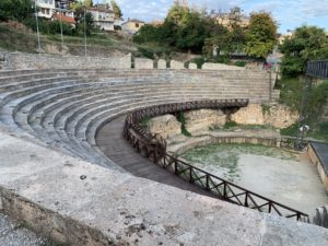 Romeins theater in Ohrid