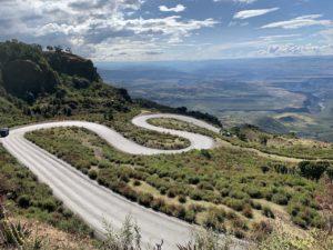 De weg naar Debre Markos, Ethiopië