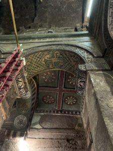 Interieur kerk Lalibela