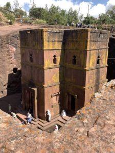St. George kerk Lalibela, Ethiopië