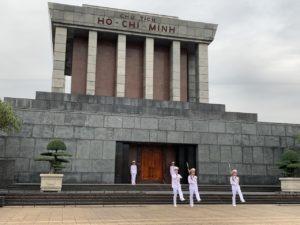 Mausoleum Ho Chi Minh in Vietnam