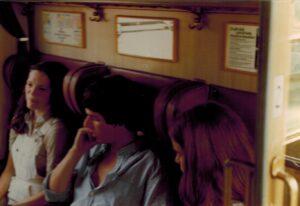 In de trein naar Düsseldorf