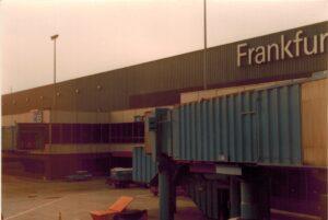 Tussenlanding in Frankfurt